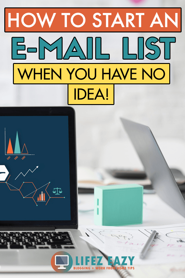 Create an E-mail list - Learn the exact steps needed to create & start your email list from scratch for your new blog. #emaillist #createemaillist