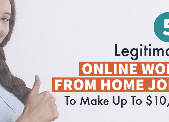 Online Work from home jobs