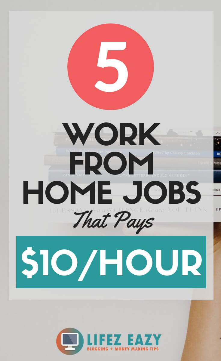 Work from home jobs Pinterest Pin