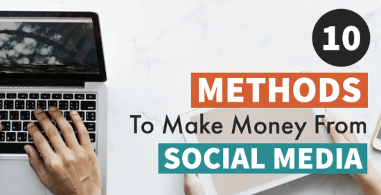 Make money from social media cover