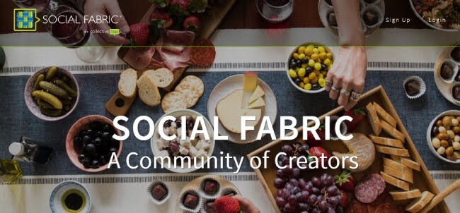 Social Fabric website