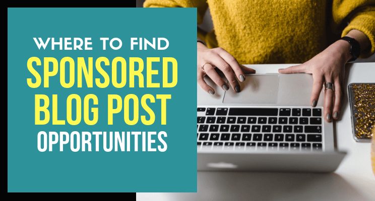 Where to find sponsored blog post opportunities blog cover