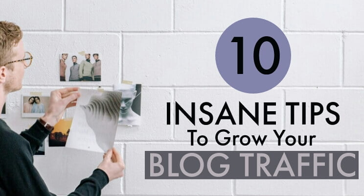 Grow blog traffic post cover