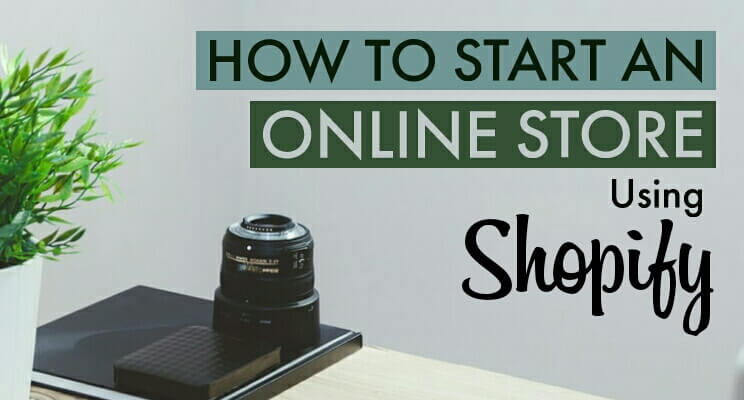 Cover for Shopify online store post