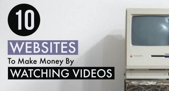 Make money watching videos post cover