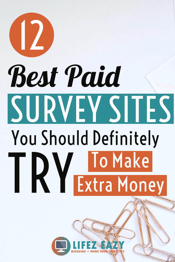 Survey Sites Pinterest Pin