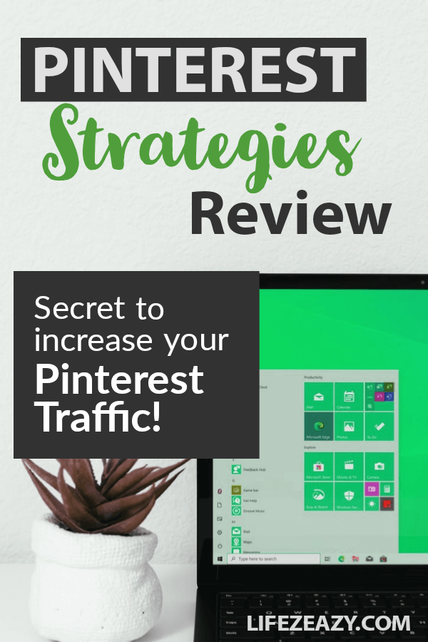 Pinterest Strategies Review Pin