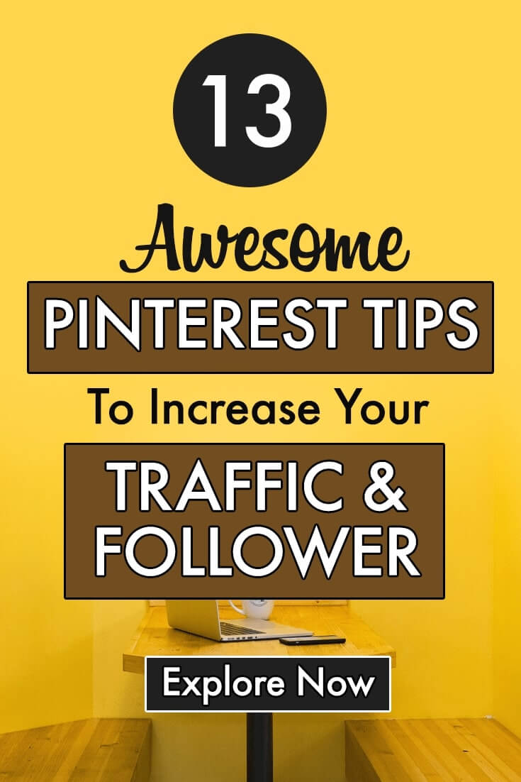 Pinterest Tips pin