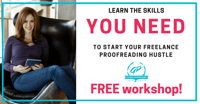 Proofread Anywhere Course
