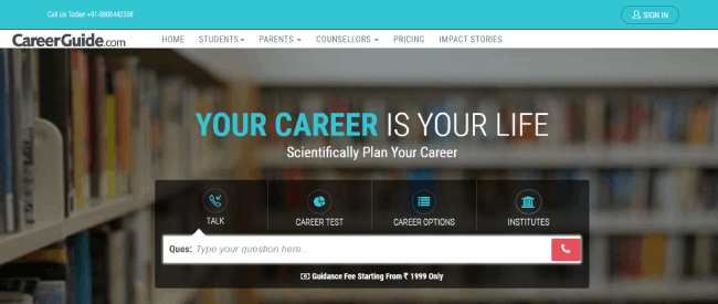 Career guide website