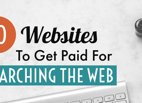 Get paid for searching the web post cover