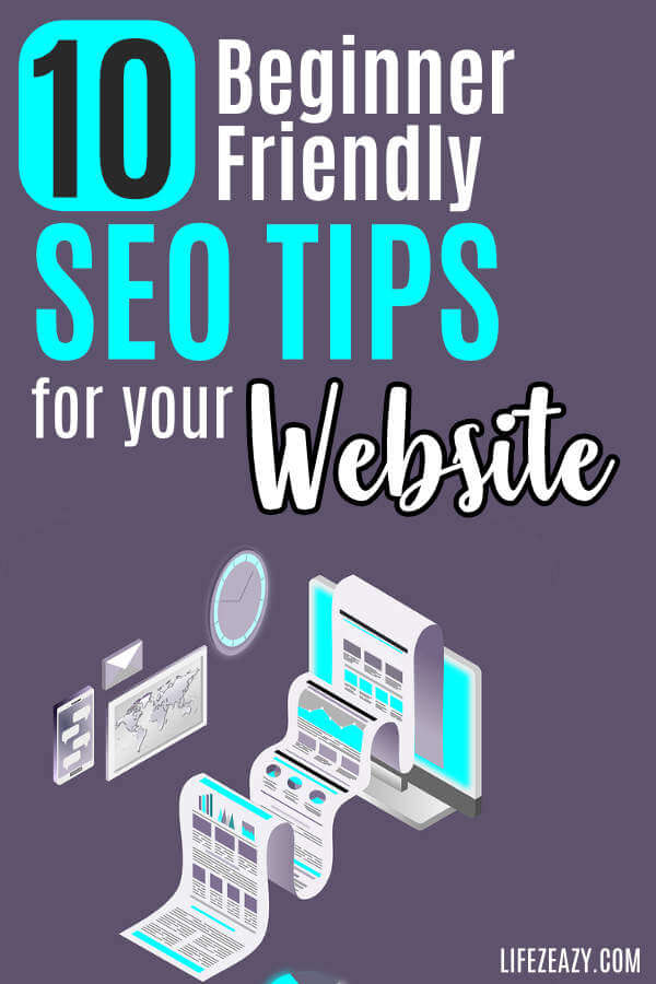 SEO for Dummies Pin