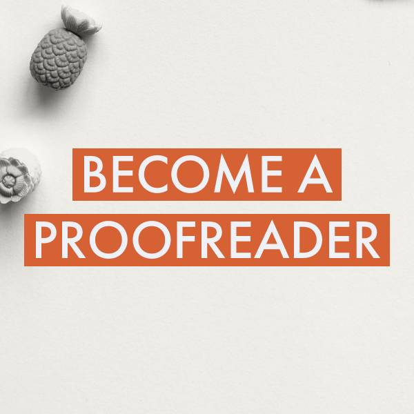 Become Proofreader Cover