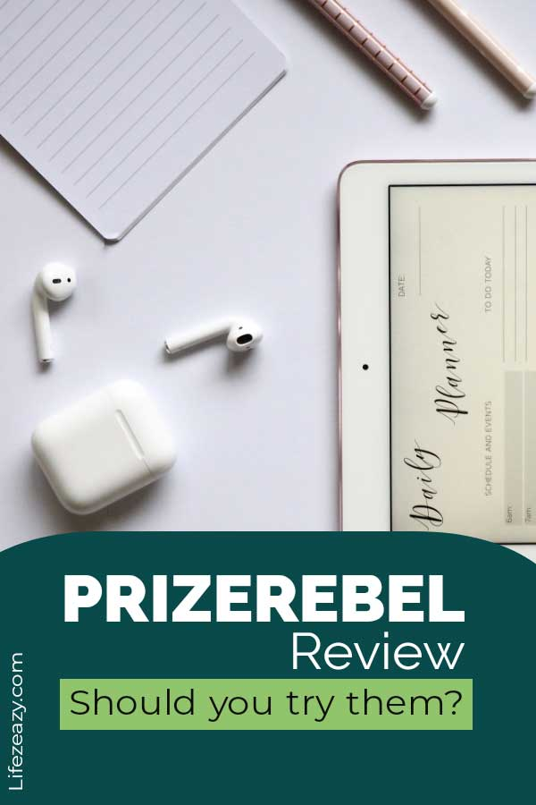 PrizeRebel Review Pinterest pin