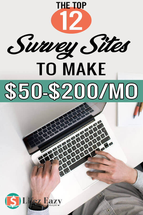 High paying survey sites that pay through PayPal Pinterest Pin