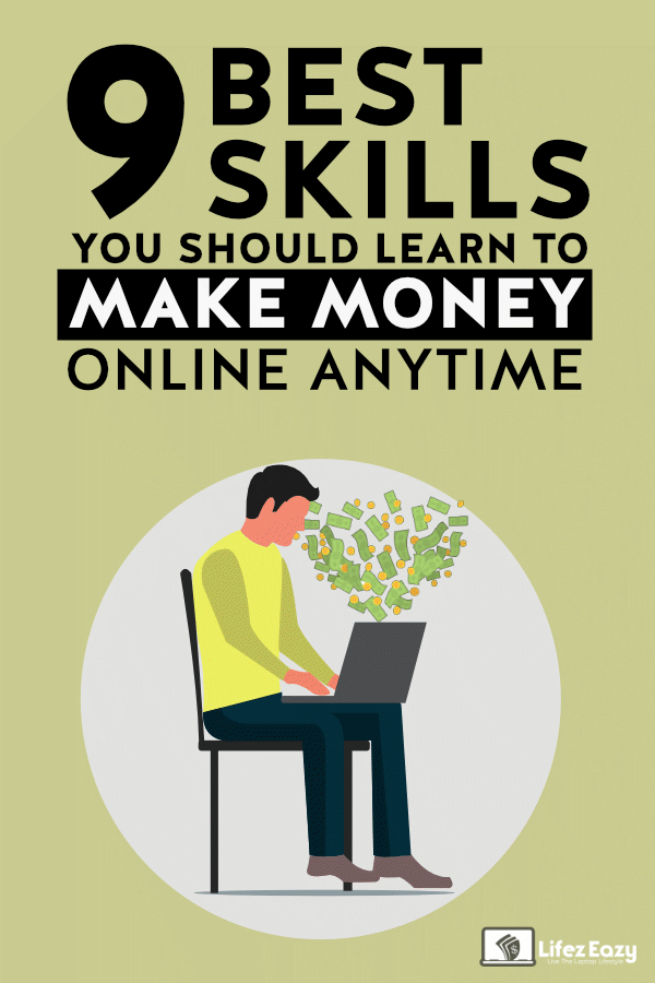 High Paying Skills to Learn to Make Money Pin