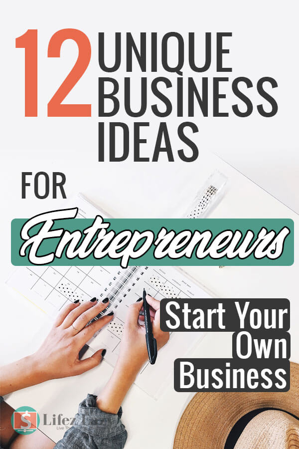 Unique Business Ideas for Entrepreneurs