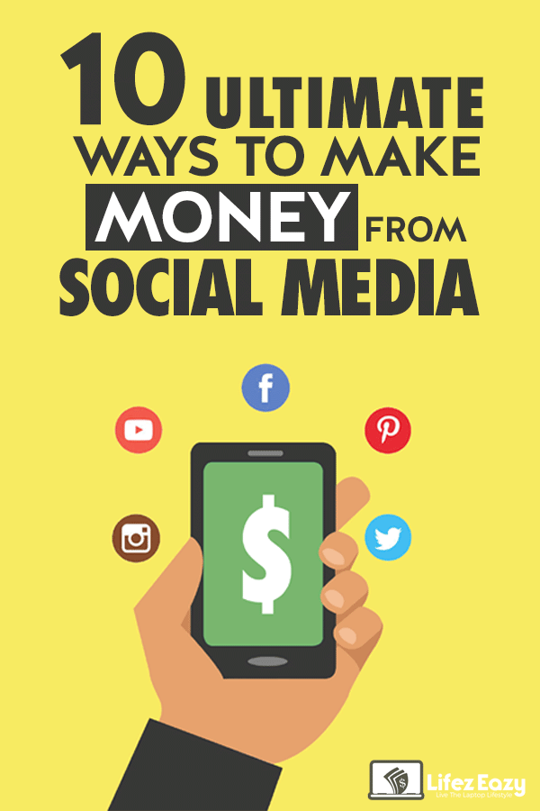 Make money online from Social Media