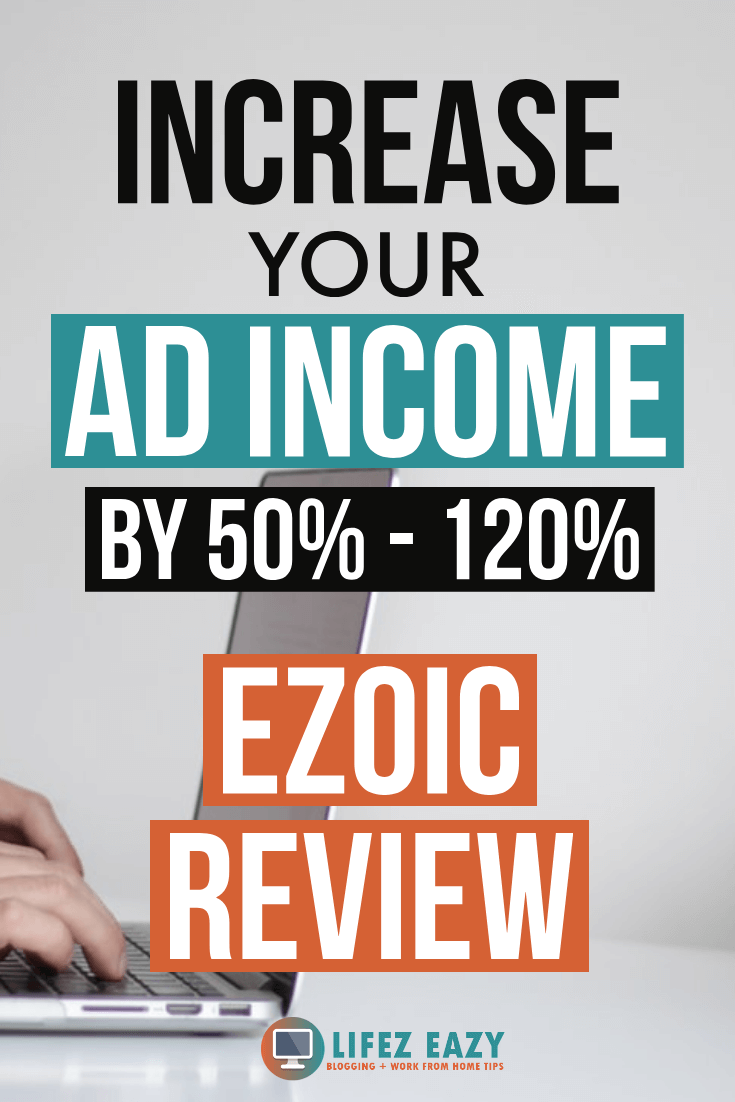 Ezoic Review 2019 Pinterest Pin