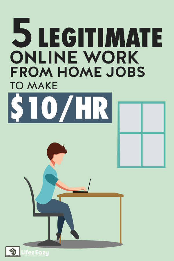 Legitimate online work from home jobs Pin