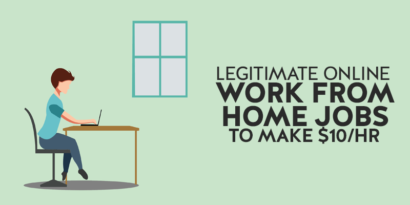 Legitimate online work from home jobs