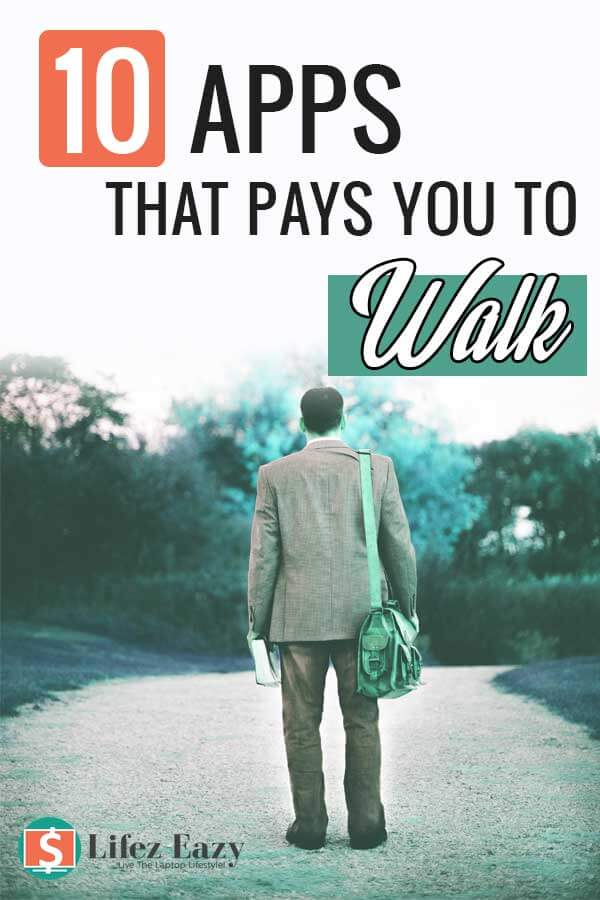 Apps That Pay You To Walk Pinterest Pin