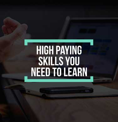 High Paying Skill cover