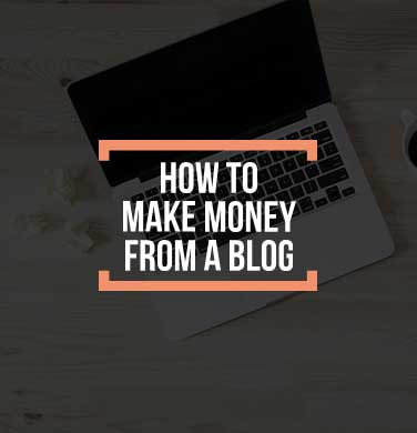 How to make money from blog cover