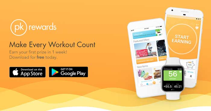 PK Workout & Activity Tracker App