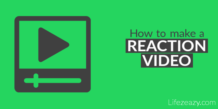 How to make reaction videos