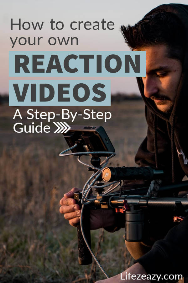 How to make reaction videos Pin