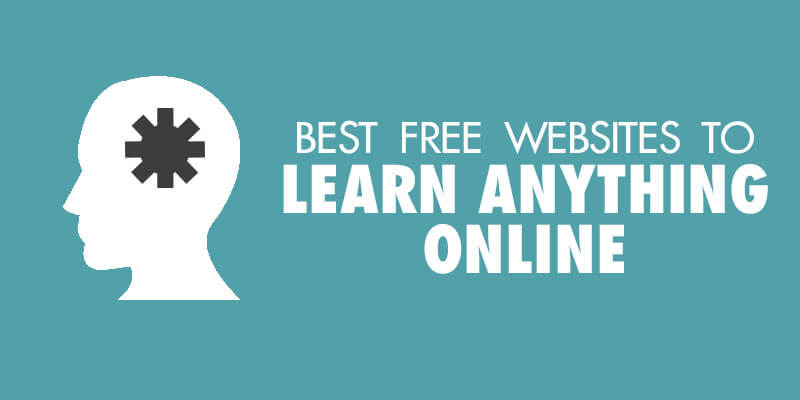 Websites to learn anything online