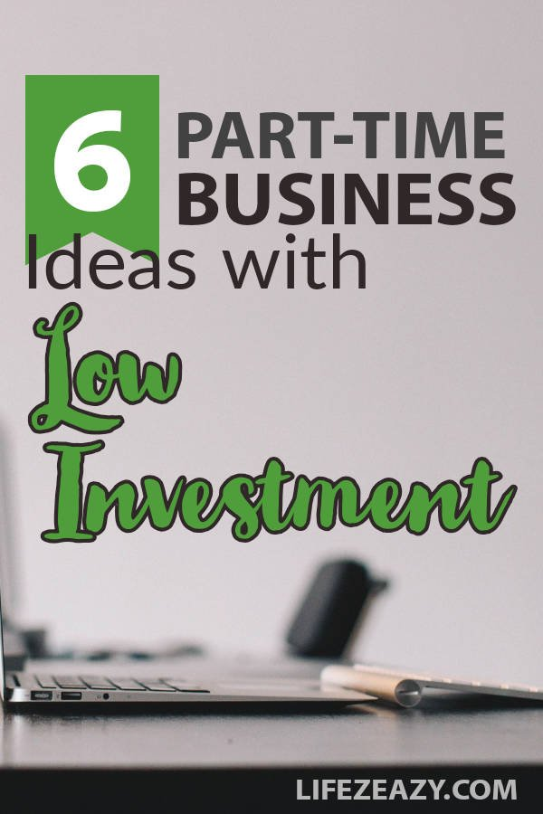 Part time business ideas with low investment