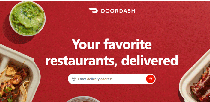 DoorDash Website