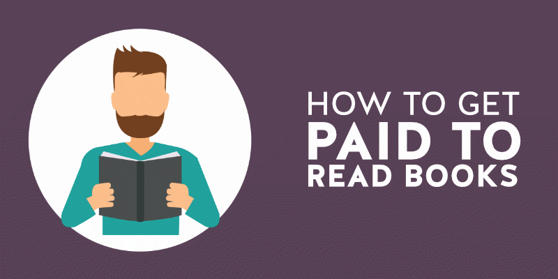 Get paid to read books cover