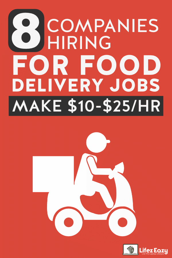 Make money delivering food