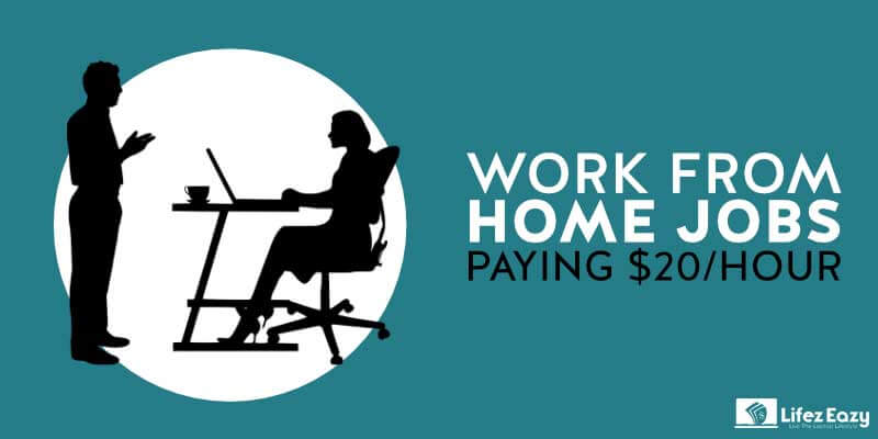 Work from home jobs paying $20 an hour