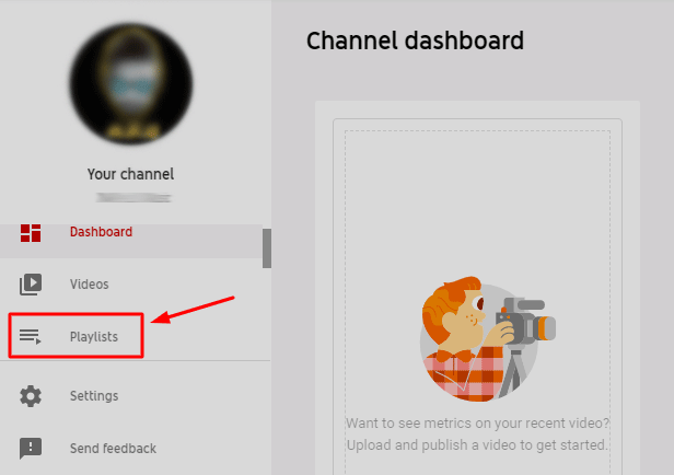 YouTube Channel Dashboard