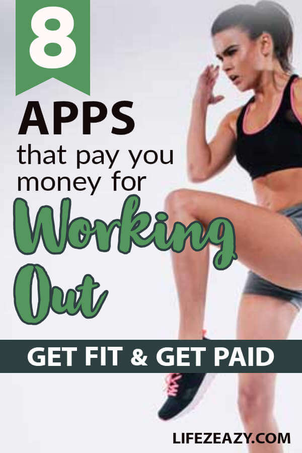 Get paid for workout Pin