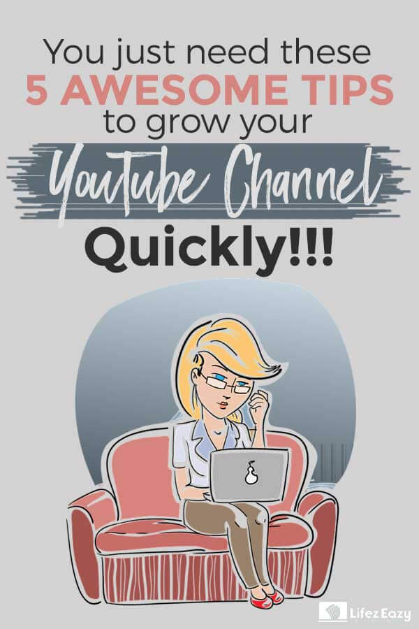 Grow YouTube channel quicker than ever before Pin
