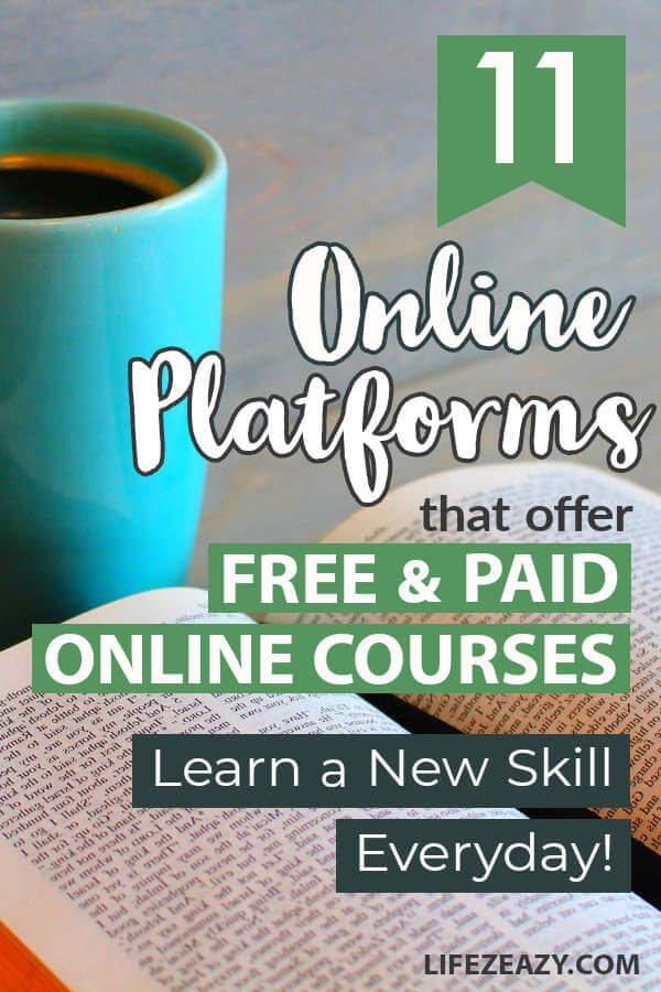 Free & Paid Online courses Pin