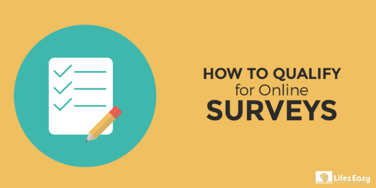 How to qualify for surveys Post cover