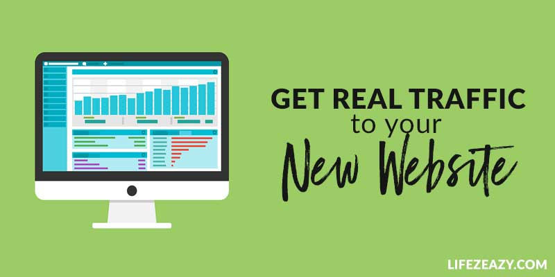 Get Real Traffic To Your Website For Free