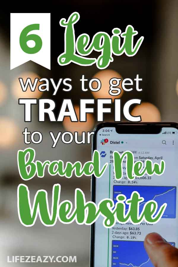 Get Real Traffic To Your Website For Free Pin