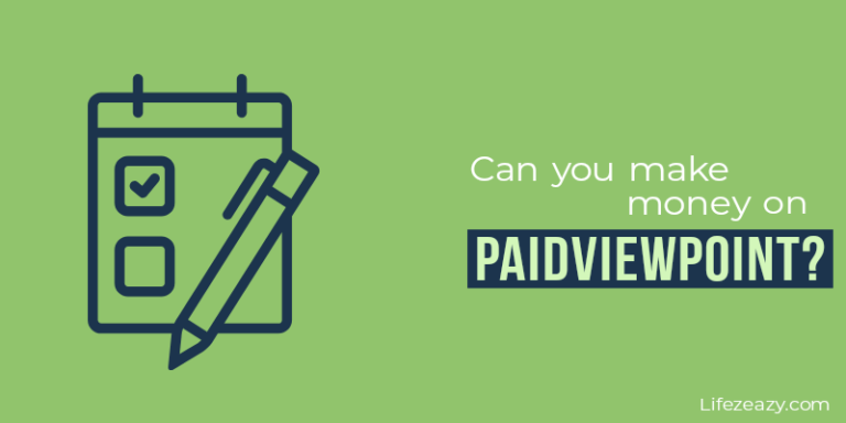 Can you make money on PaidViewPoint