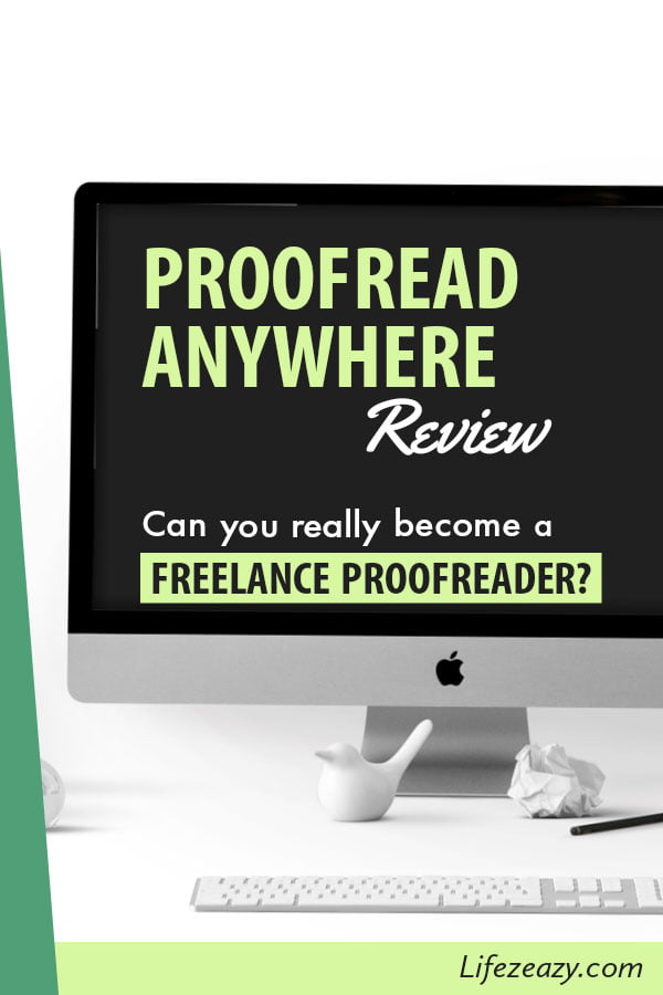 Proofread Anywhere Review Pin