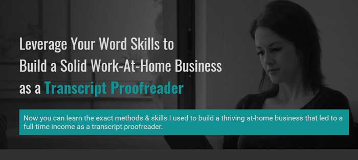 Transcript Proofreader Theory & Practice