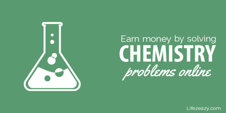 Earn Money by Solving Chemistry Problems Cover