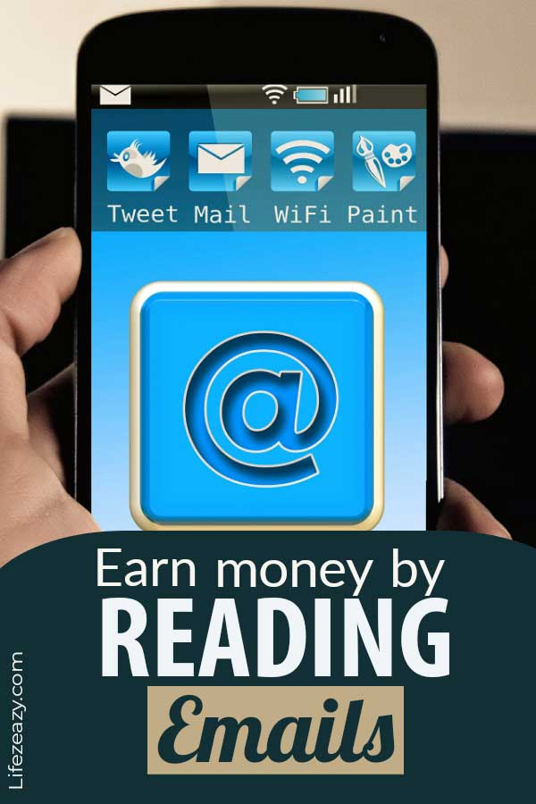 Earn money reading emails