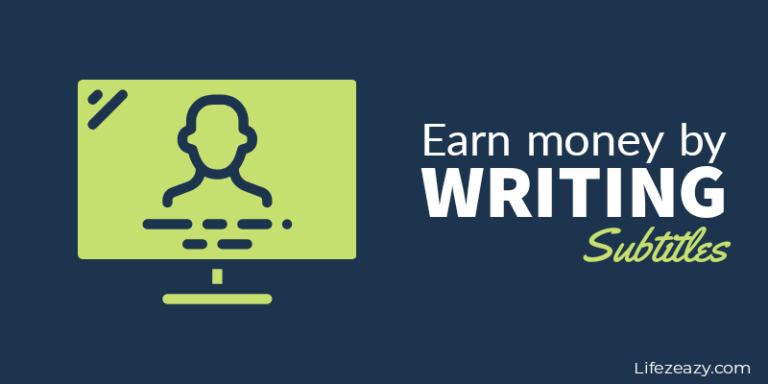 Earn Money By Writing Subtitles post cover